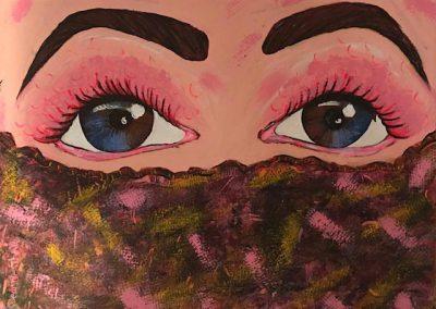 divine feminine acrylic on canvas