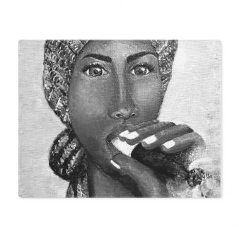 placemat-cigar-smokinglady-black-and-white